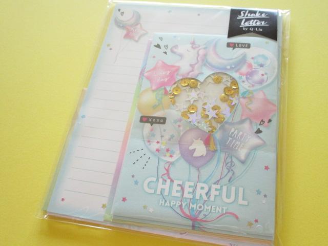 Photo1: Kawaii Cute Regular Letter Set Q-LiA *Cheerful Happy Moment (30038)