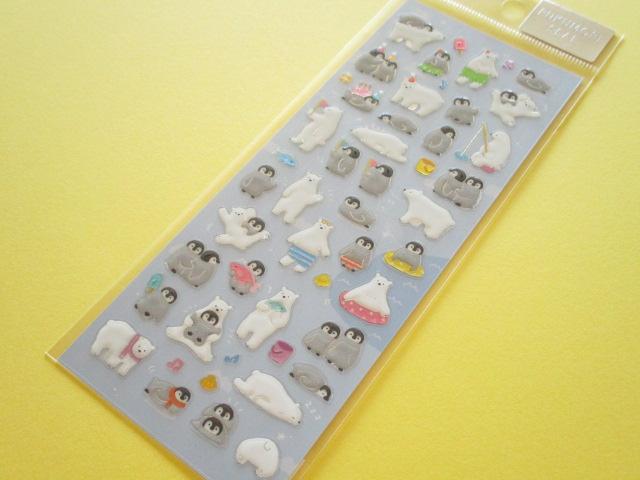 Photo1:  Kawaii Cute Pukumori Stickers Sheet  Mind Wave *Thick Friends (79222)