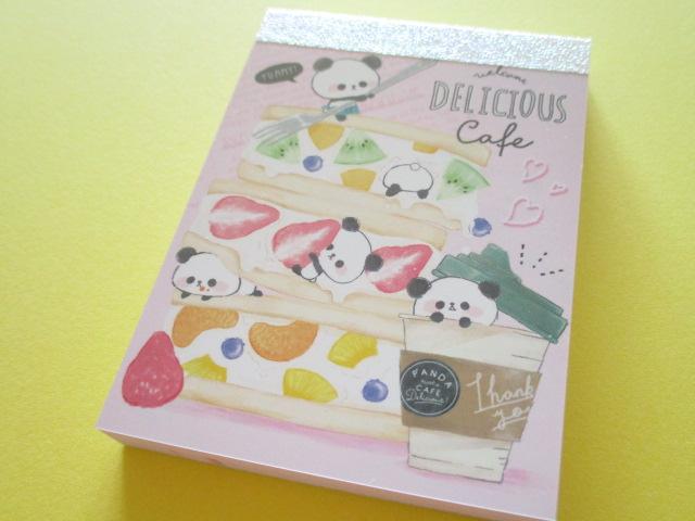 Photo1: Kawaii Cute Mini Memo Pad Delicious Cafe Q-LiA  *Fruit Sandwich (34098)
