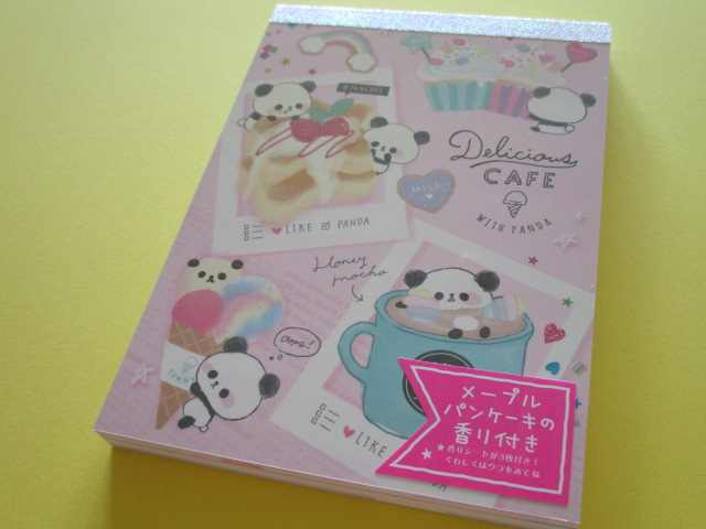 Photo1: Kawaii Cute Large Memo Pad Delicious Cafe Q-LiA *Sweets (34101)