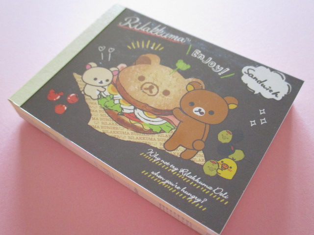 Photo1: Kawaii Cute Mini Memo Pad Rilakkuma San-x *Rilakkuma Deli (MW41301-4)