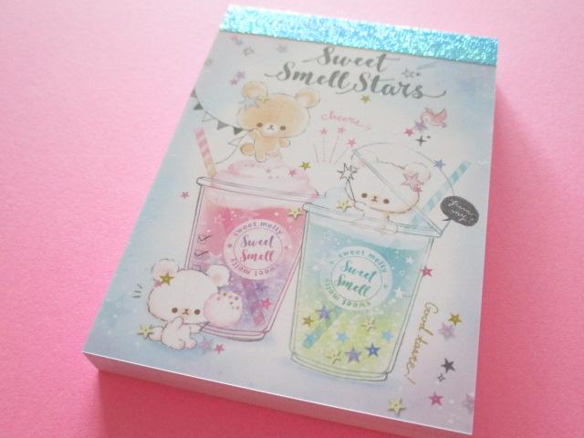 Photo1: Kawaii Cute Mini Memo Pad Q-LiA *Sweet Smell Stars (30060)
