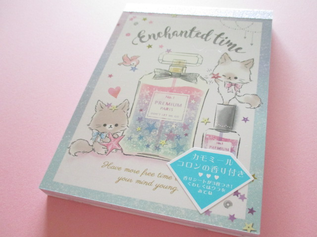 Photo1: Kawaii Cute Large Memo Pad Enchanted Time Q-LiA *Cosmetics (34123)