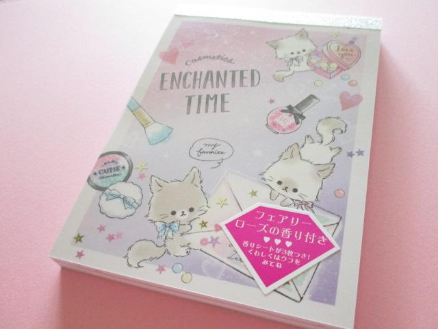 Photo1: Kawaii Cute Large Memo Pad Enchanted Time Q-LiA *letter (34124)