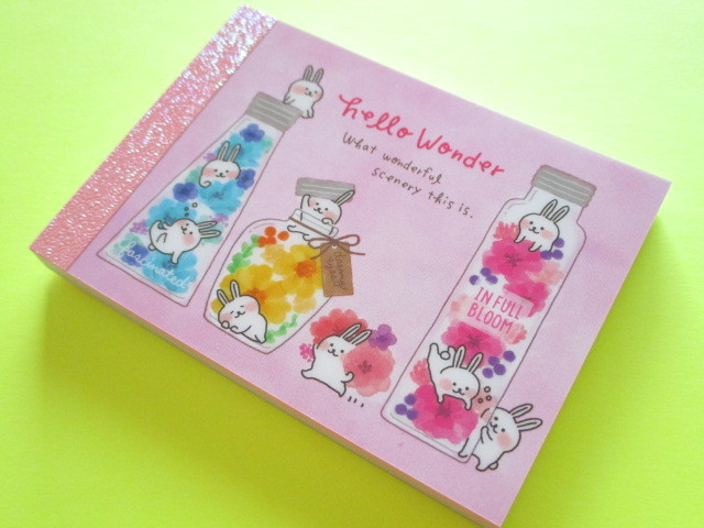 Photo1: Kawaii Cute Mini Memo Pad Mind Wave *Hello Wonder (55754)