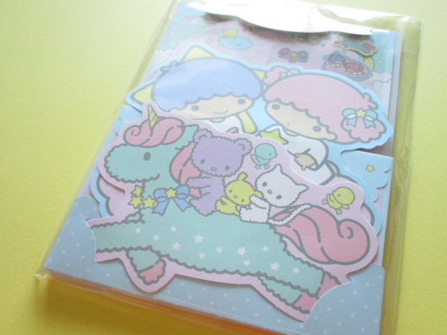 Photo1: Kawaii Cute Regular Letter Set Sanrio *Little Twin Stars (86617-2)