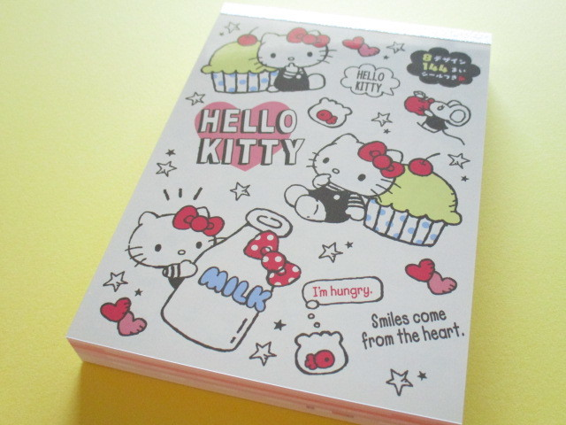 Photo1: Kawaii Cute Large Memo Pad Sanrio Original *Hello Kitty (86655-5)