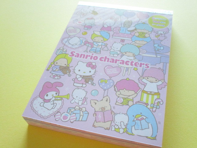 Photo1: Kawaii Cute Large Memo Pad Sanrio Original *Sanrio Characters (86743-8)