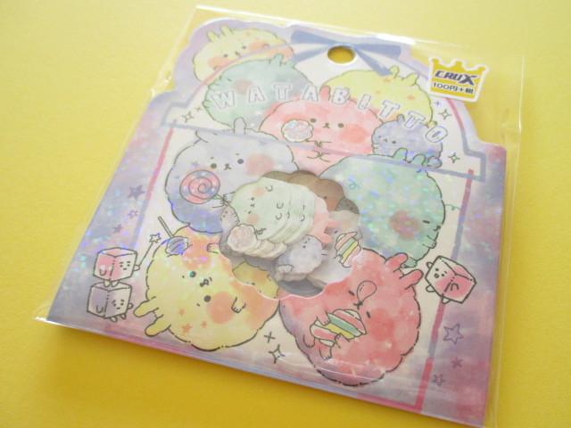 Photo1: Kawaii Cute Sticker Flakes Sack Crux *Watabitto (05816)