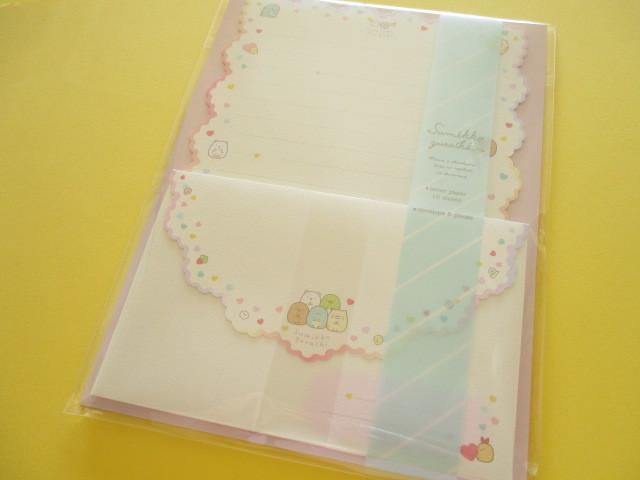 Photo1: Kawaii Cute Regular Letter Set Sumikkogurashi San-x *しろくまのてづくりぬいぐるみ (LH65601)