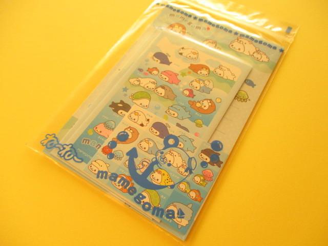 Photo1: Kawii Cute Mini Letter Set San-x Furoku *Mamegoma
