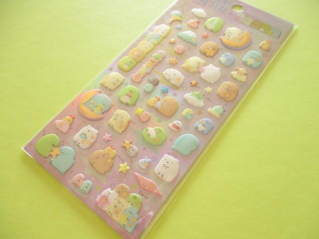 Photo1: Kawaii Cute Funi Funi Pearl Sticker Sheet San-x * Sumikkogurashi (SE37005)