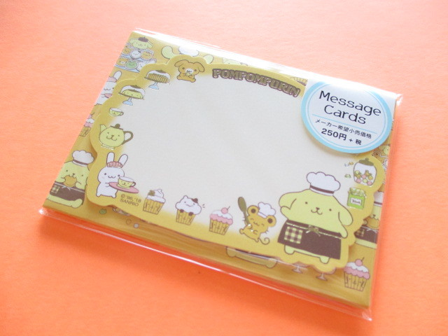 Photo1: Kawaii Cute Mini Message Card Set Sanrio Original *POMPOMPURIN (58666-8)