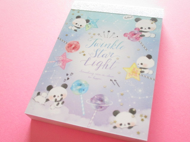 Photo1: Kawaii Cute Mini Memo Pad Q-LiA *Twinkle Star Light (30211)