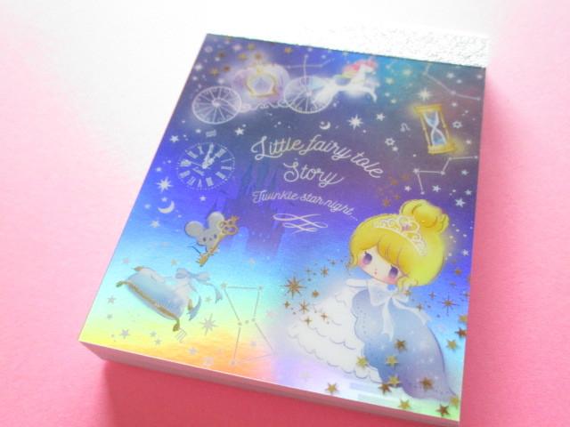 Photo1: Kawaii Cute Mini Memo Pad Little Fairy Tale Q-LiA *Merry Cinderella (34380)