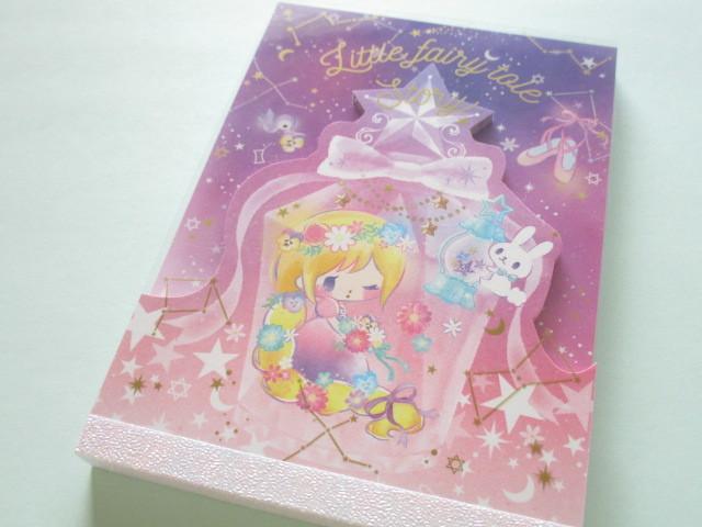 Photo1: Kawaii Cute Large Memo Pad Little Fairy Tale Q-LiA *Little Rapunzel (34384)