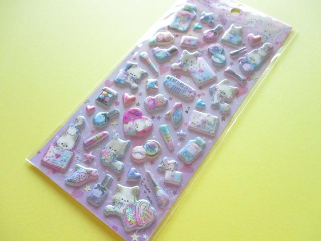 Photo1: Kawaii Cute Holokira Stickers Sheet Q-LiA *Enchanted Time (31124)
