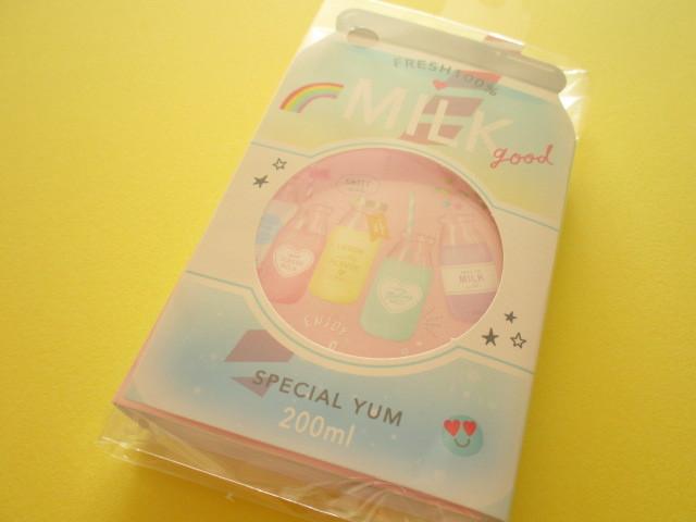 Photo1: Kawaii Cute Patapata Mini Memo Pad Q-LiA *Milky Days (30250)