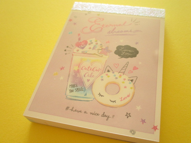 Photo1: Kawaii Cute Mini Memo Pad Q-LiA *Eternal Dreams (30256)