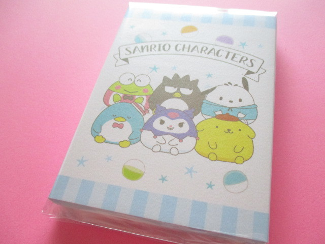 Photo1: Kawaii Cute Patapata Medium Memo Pad Sanrio Original * Sanrio Characters Capsule (37626-4)