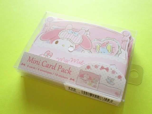 Photo1: Kawaii Cute Mini Card Pack Set Sanrio Original *My Melody (98355-1)