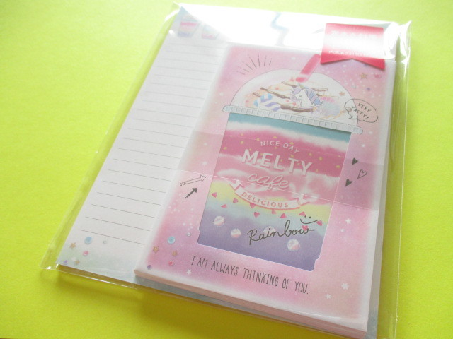 Photo1: Kawaii Cute Letter Set Crux *Melty Cafe (09114)