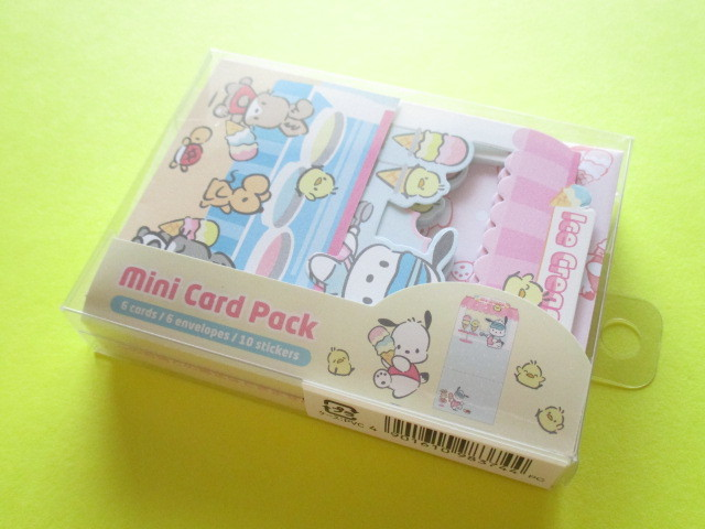 Photo1: Kawaii Cute Mini Card Pack Set Sanrio Original *Pochacco (98374-8)