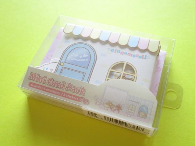 Photo1: Kawaii Cute Mini Card Pack Set Sanrio Original *Cinnamoroll (98360-8)