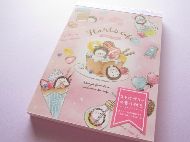 Photo1: Kawaii Cute Large Memo Pad Q-LiA *Haris Cafe (30299)