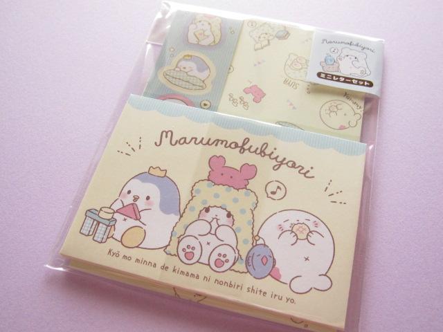 Photo1: Kawaii Cute Mini Letter Set Sanrio Original*Marumofubiyori のんびり (39216-2)