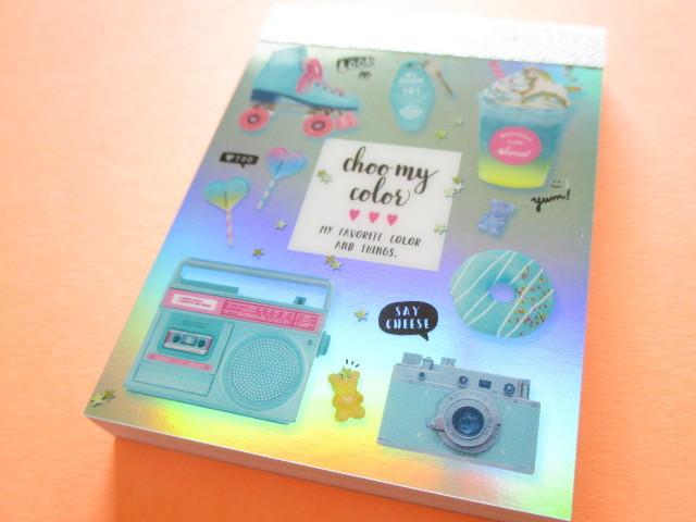 Photo1: Kawaii Cute Mini Memo Pad Q-LiA *Something Mint (34551)