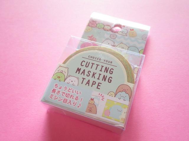 Photo1: Kawaii Cute Cutting Mini Masking Tape/Deco Tape Sticker San-x *Sumikkogurashi (SE37503)