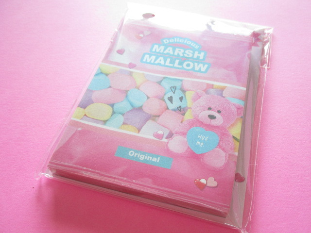 Photo1: Kawaii Cute choo my color Die-Cut Medium Memo Pad Q-LiA *Marsh Mallow (34555)