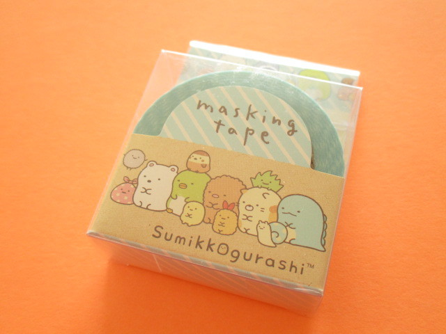 Photo1: Kawaii Cute Mini Masking Tape/Deco Tape Sticker San-x *Sumikkogurashi  (SE37406)