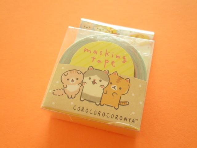 Photo1: Kawaii Cute Mini Masking Tape/Deco Tape Sticker San-x *Corocorocoronya (SE37412)