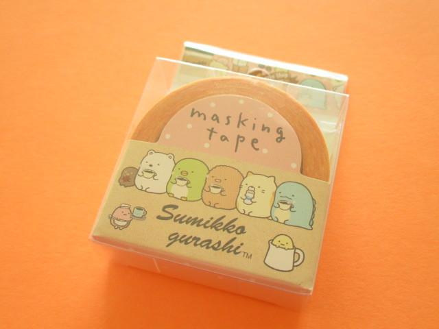Photo1: Kawaii Cute Mini Masking Tape/Deco Tape Sticker San-x *Sumikkogurashi  (SE37407)