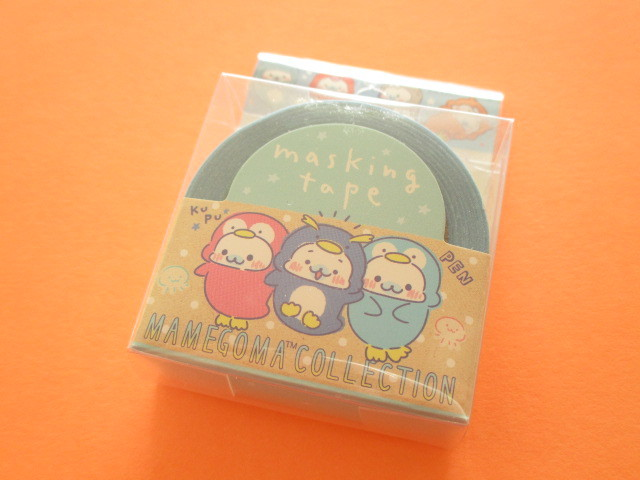Photo1: Kawaii Cute Mini Masking Tape/Deco Tape Sticker San-x *Mamegoma (SE37410)