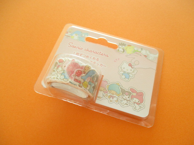 Photo1: Kawaii Cute Masking Tape Stickers Sanrio Original *Sanrio Characters (70236-6)
