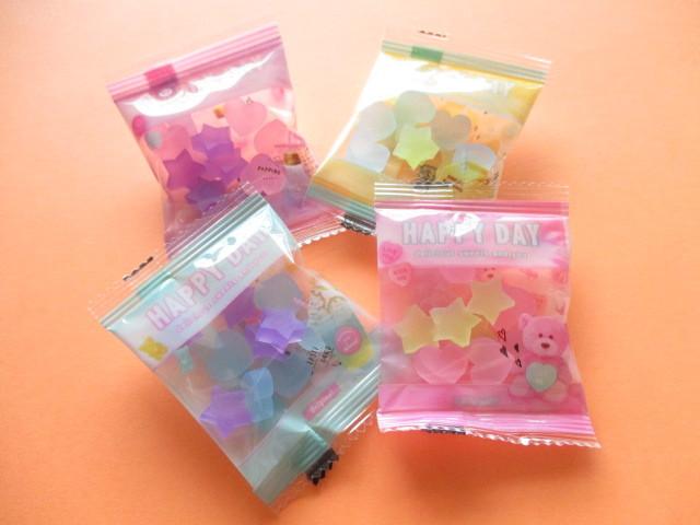 Photo1: 4 x Kawaii Cute Candy Tiny Erasers Set Q-lia *Choo My Color