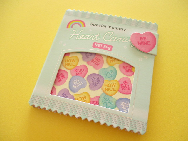 Photo1: Kawaii Cute Delicafe Collection Medium Memo Pad Q-LiA *Sweet Candy (30327)