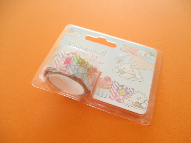 Photo1: Kawaii Cute Masking Tape Stickers Sanrio Original *Cinnamoroll (70235-8)