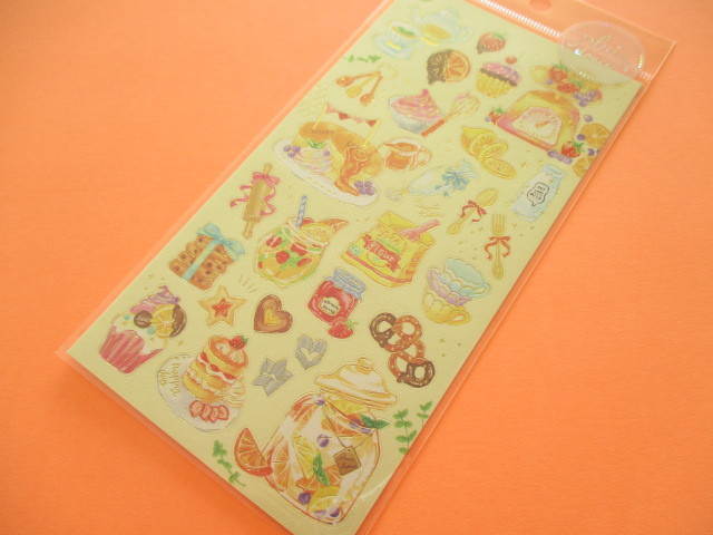 Photo1: Kawaii Cute Pluie Douce Stickers Sheet Mind Wave *Joyful Cooking (79574)