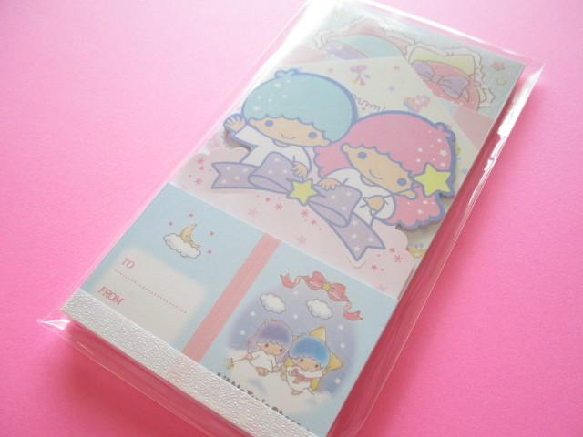 Photo1: Kawaii Cute Medium Memo Pad Sanrio Original *Little Twin Stars (98511-2)