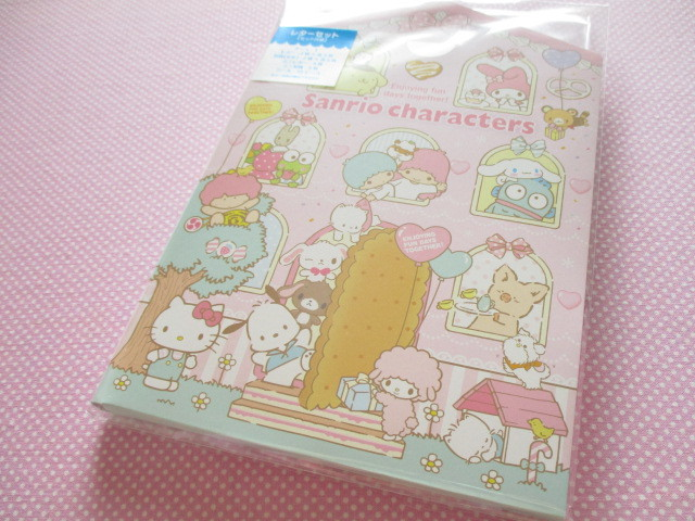 Photo1: Kawaii Cute Regular Letter Set Sanrio Original *Sanrio Characters (98333-1)