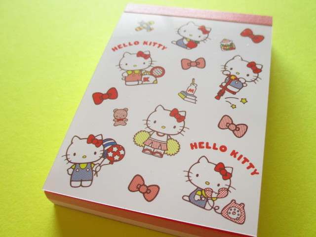 Photo1: Kawaii Cute Mini Memo Pad Sanrio *Hello Kitty (S2819104)