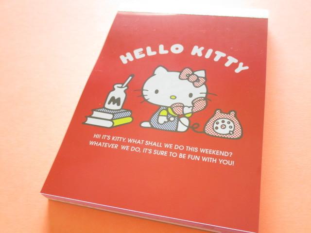 Photo1: Kawaii Cute Large Memo Pad Sanrio *Hello Kitty (S2819090)