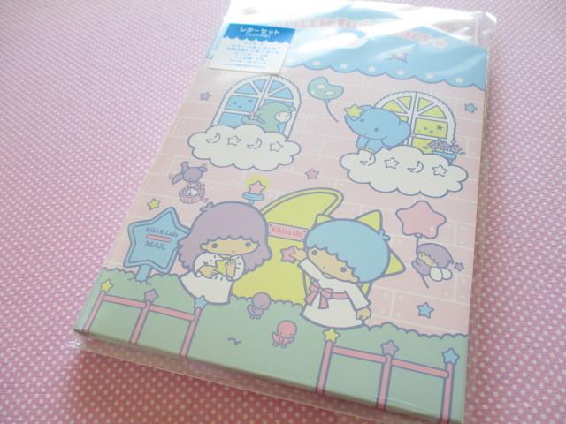 Photo1: Kawaii Cute Regular Letter Set Sanrio Original *Little Twin Stars (98299-7)