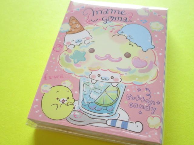 Photo1: Kawaii Cute Patapata Mini Memo Pad San-x Mamegoma *Mamegoma Cafe (MW48401)