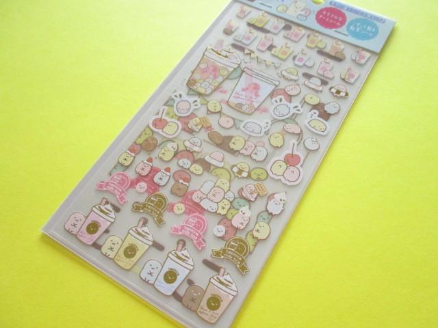 Photo1: Kawaii Cute Twin Sticker Sheets Sumikkogurashi San-x *Tapioca (SE38402)