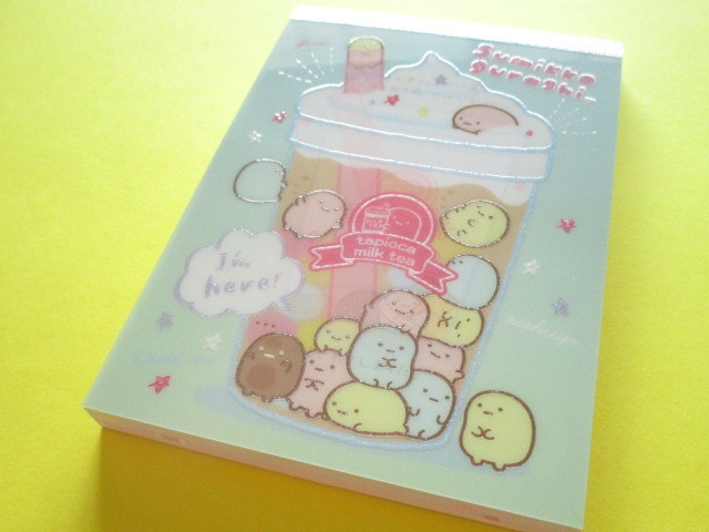 Photo1: Kawaii Cute Large Memo Pad Sumikkogurashi San-x *Tapioca (MW50101)